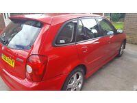 2003 mazda 323f sport spares or repair