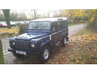 land rover defender 110 county td5 much loved.