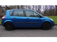 Renault Scenic 1.4 16v Authentique 5dr, Blue, 2005 (05 reg), MPV, 96,000 miles, Manual,98 bhp,Petrol
