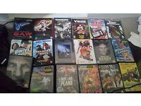Dvd films 18 each
