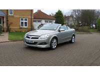 2008 08 VAUXHALL ASTRA 1.8 TWIN TOP DESIGN 3d 140 BHP *PART EX WELCOME*FINANCE AVAILABLE*WARRANTY*