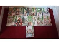 Manga - Yotsuba&! volumes 1 - 13