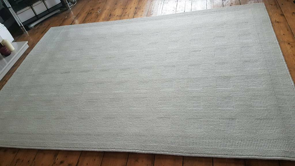 Ikea Havbro Cream Wool Large Rug In Aigburth Merseyside Gumtree