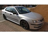 SAAB 93 Vector Sport 2006 1.9 tid diesel automatic, silver colour, black alloy wheels,excellent car.