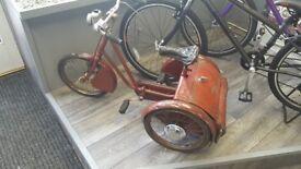 Gresham flyer tricycle