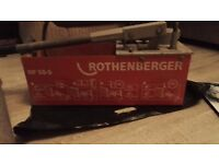 Rothenberg RP50-S pressure tester used.