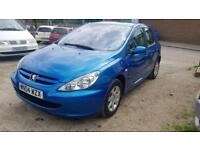 Peugeot 307 1.4 petrol with mot