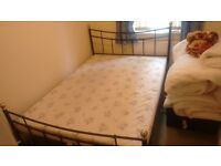 Double bed with Mattress is available , nearly in new condition