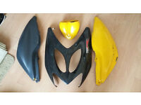 Airhorx plastics for a moped for sale
