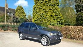 2003 BMW X5 3.0D GREY TOP SPEC NATIONWIDE DELIVERY CREDIT CARD FACILITY GURANTEED £200 PX VALUE