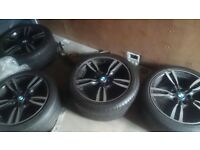 225/45r/18. Runflat 18 inch Bmw Alloys