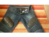 Motorbike Kevlar padded Dragging Jeans