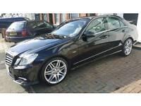 Mercedes Benz E250 Sport black