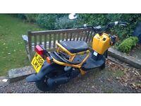 Honda Zoomer 50cc yellow