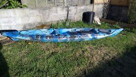 Galaxy sturgeon fishing kayak