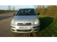 TOYOTA YARIS 1.0L T2 2003 MOT TILL 21/06/2017 WARRANTED MILES HPI CLASS EXCELLENT CONDITION