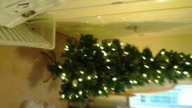 Pre lit Christmas Tree 6ft