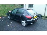 2 X PEUGEOT 206 FOR BREAKING/PARTS