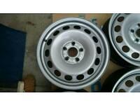 16 inch VW steel wheels BRAND NEW