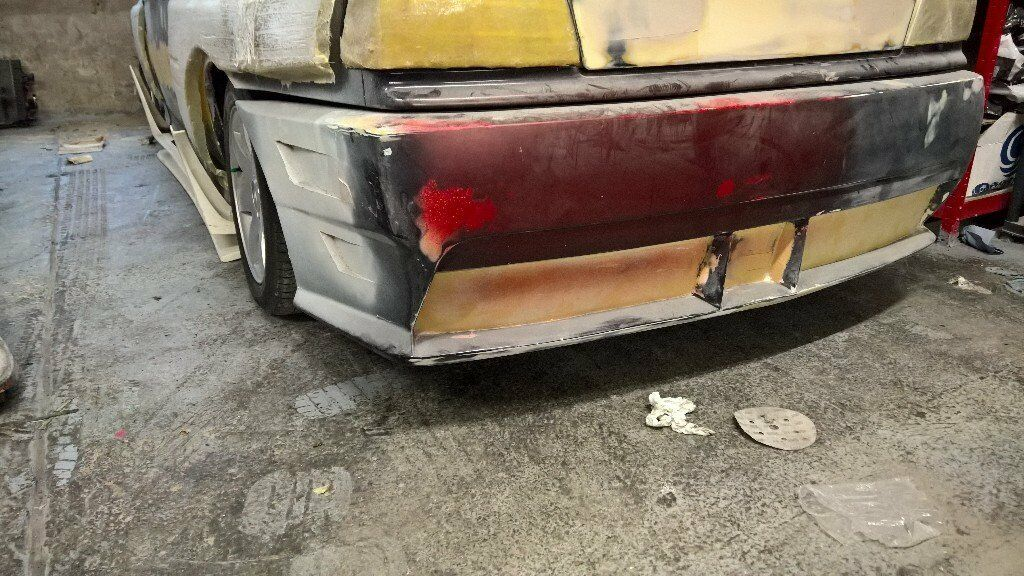 bmw e36 coupe or convertible aftermarket fibreglass custom bumper