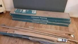 Light chestnut laminate flooring