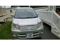 Toyota Noah, MPV people carrier, 7 seater, electric lift chair, mobility, private sale, new M.O.T