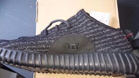 Adidas Yeezy Boost 350 size 9 Pirate Black