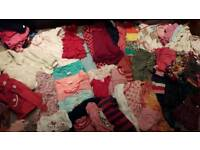 Huge bundle of girls clothes age 18months to 2
