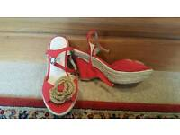 Rockabilly/pinup style shoes