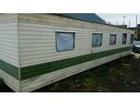 35ft Mobile home caravan