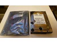 Desktop pc,computer 2tb WD gold Hard drive.