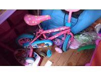 Childs bike and quad