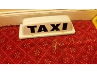 Magnetic Taxi Sign £5