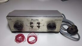 Antique Duette twin supply power unit Hammant and Morgan