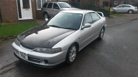 Honda integra 4 door saloon very rare!