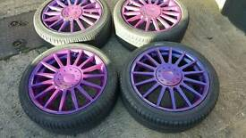 17inche st170 alloys 4 stud