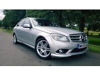 Mercedes-Benz C Class 2.1 C220 CDI BlueEFFICIENCY Sport 4dr LOW MILEAGE + BLUETOOTH