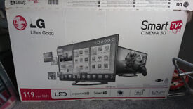 "LG Smart TV 50LB561V 50"" 1080p HD LED Mirror Television"