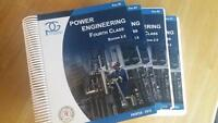 Power Engineering 4th class books 500 OBO