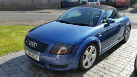 Audi TT convertable in great condition