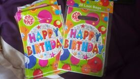 Colourful Loot Party Bags