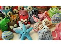 Crochet and Knitting Classes - Beginners and Advanced
