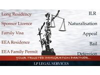 Immigration Specialist Visa service - Tier 2, Tier 4,ILR, EEA Family Visa, Bail, Appeal, FLR(O)