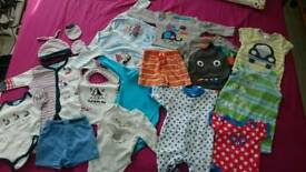 Lovely baby clothes bundle size newborn/up to 1 month