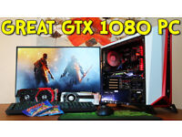 Alpha 1080 Gaming Pc - 16 Gb Ram, Skylake intel i7 quad core 4.0 gz 6700k unlocked - Msi GTX 1080