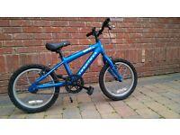Ridgeback MX 16 inch Boys Blue Bike Cycle Bicycle
