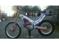 1997 beta techno 250cc trials bike