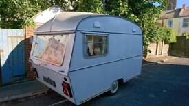 Stunning vintage caravan