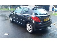 Peugeot 207 sport 1.6petrol 2007 2 owners from new