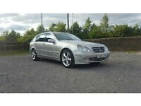 2005 Mercedes C220, CDI, DIESEL, AVANTGARDE, 118K Estate, Automatic, Silver, CHEAP CAR!